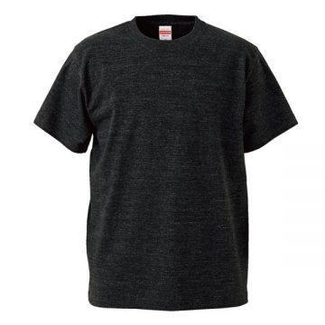 ハイクオリティーTシャツ725.ヘザーブラック