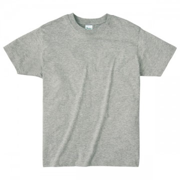 ライトウエイトTシャツ003.杢グレー