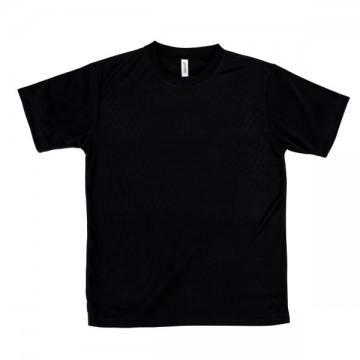 ライトドライTシャツ005.ブラック