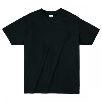 ライトウエイトTシャツ005.ブラック