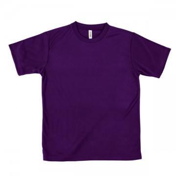 ライトドライTシャツ014.パープル