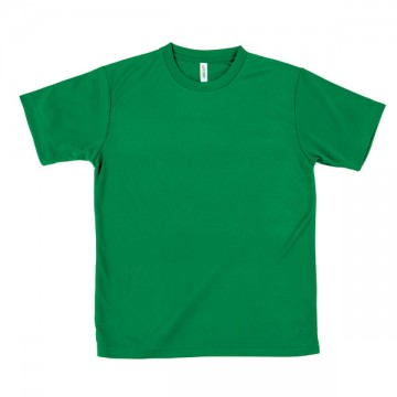 ライトドライTシャツ025.グリーン