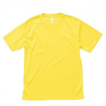 ライトドライTシャツ10.イエロー