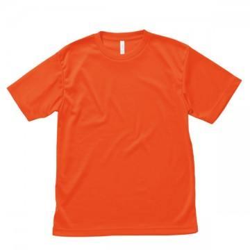 ライトドライTシャツ13.オレンジ