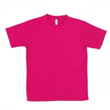【SALE】ライトドライTシャツ146.ホットピンク