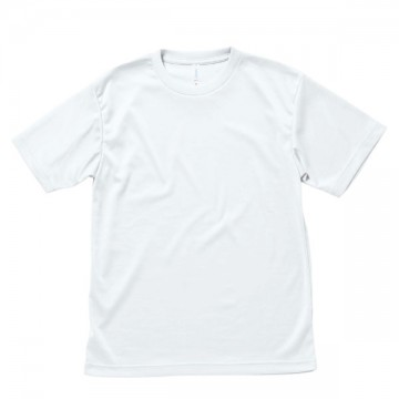 ライトドライTシャツ15.ホワイト