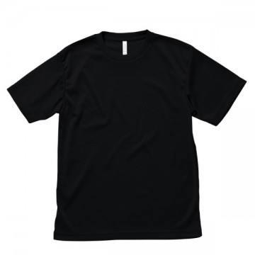 ライトドライTシャツ16.ブラック