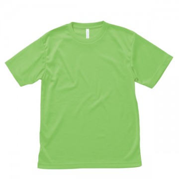 【SALE】ライトドライTシャツ21.ライトグリーン
