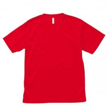 【SALE】ライトドライTシャツ3.レッド