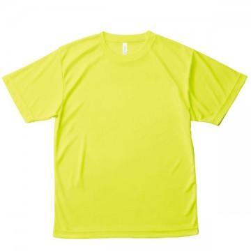 ライトドライTシャツ40.蛍光イエロー