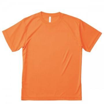 ライトドライTシャツ43.蛍光オレンジ