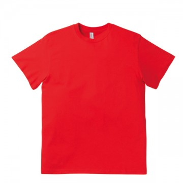 ユーロTシャツ3.8oz53.イタリアンレッド
