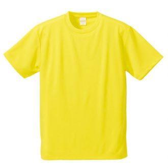 ドライアスレチックTシャツ5900イエロー