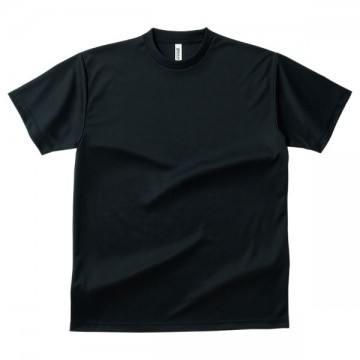 ドライTシャツ005.ブラック