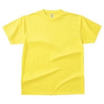 ドライTシャツ020.イエロー