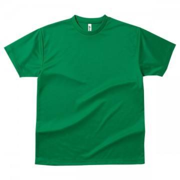 ドライTシャツ025.グリーン