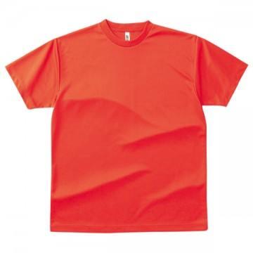 ドライTシャツ048.蛍光オレンジ