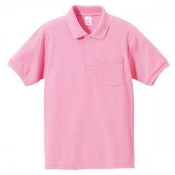 ハイブリッドポロシャツ066.ピンク