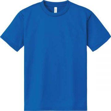 ドライTシャツ198.ミディアムブルー
