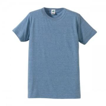 トライブレンドTシャツ596.ヴィンテージヘザーブルー