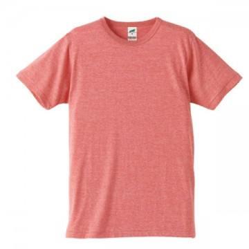 トライブレンドTシャツ597.ヴィンテージヘザーレッド