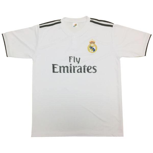 人気サッカーTシャツレアルマドリード
