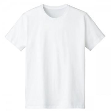 4.6オンスファインフィットTシャツ001.ホワイト