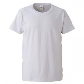 4.7オンスファインジャージーTシャツ001.ホワイト