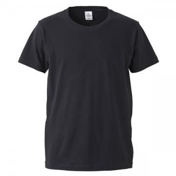 4.7オンスファインジャージーTシャツ002.ブラック