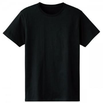 4.6オンスファインフィットTシャツ005.ブラック