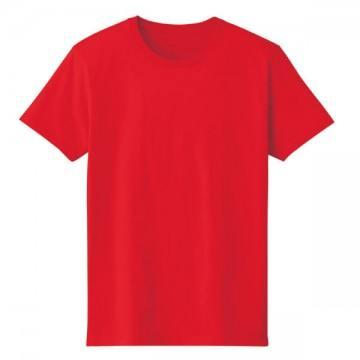 4.6オンスファインフィットTシャツ010.レッド