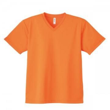4.4オンスドライVネックTシャツ015.オレンジ