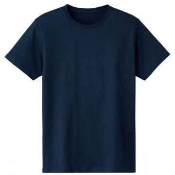 4.6オンスファインフィットTシャツ031.ネイビー