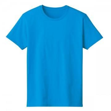4.6オンスファインフィットTシャツ034.ターコイズ