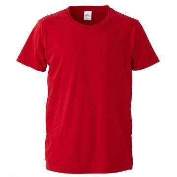 4.7オンスファインジャージーTシャツ069.レッド