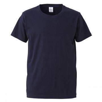 4.7オンスファインジャージーTシャツ086.ネイビー