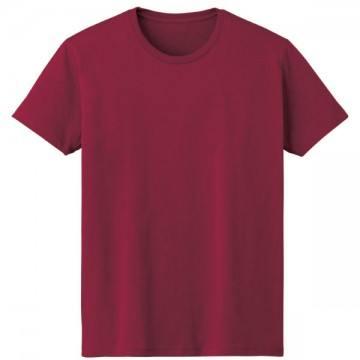 4.6オンスファインフィットTシャツ112.バーガンディ