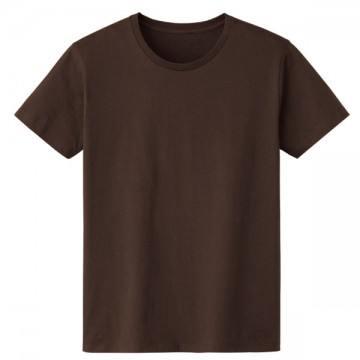 4.6オンスファインフィットTシャツ168.チョコレート