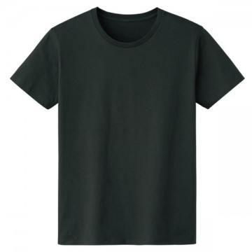 4.6オンスファインフィットTシャツ223.スモークブラック