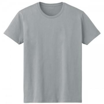 4.6オンスファインフィットTシャツ403.メランジグレー