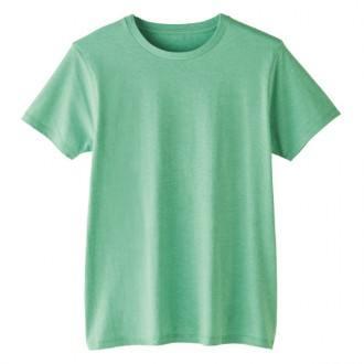 FINE FIT TshirtDM501メランジグリーン