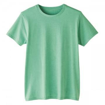 4.6オンスファインフィットTシャツ440.メランジグリーン