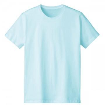 4.6オンスファインフィットTシャツ461.シャーベットブルー