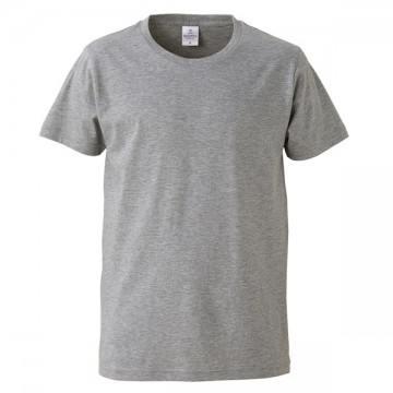 4.7オンスファインジャージーTシャツ714.ヘザーグレー
