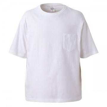 5.6オンスビッグシルエットTシャツ001.ホワイト