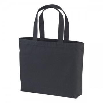 ヘヴィーキャンバストートバッグ(大)002.ブラック