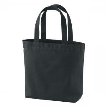 ヘヴィーキャンバストートバッグ(中)ポケット付002.ブラック
