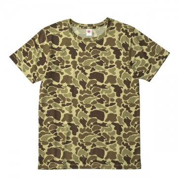 ハイブリットTシャツ1001.ダックハンター
