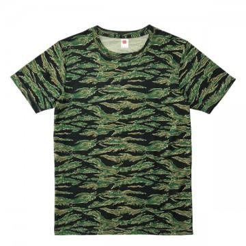 ハイブリットTシャツ1002.タイガーストライプ