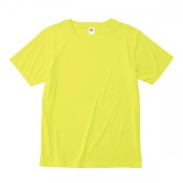 ハイブリットTシャツ40.ネオンイエロー